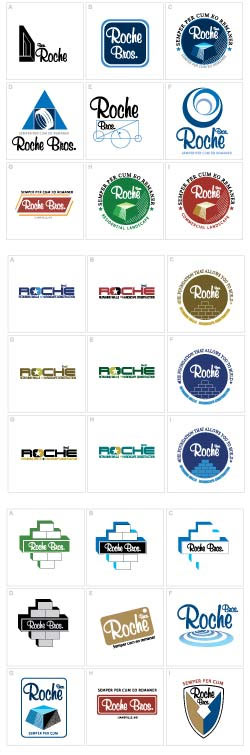 Roche Bros Logo Development by Digital Assembly in Washington, DC